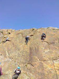 School Trips Wales: Rock Climbing
