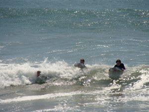 School Trips Wales: Body Boarding