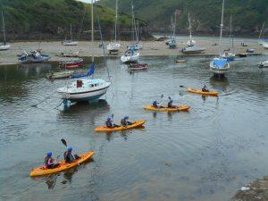 School Trips Wales: Sit On Top Kayaking