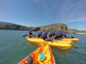 School Trips Wales: Sit On Top Kayaking