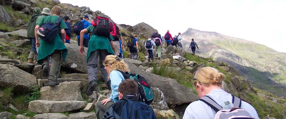 Hill walking & mountaineering