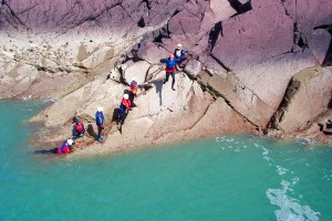 School Trips Wales: Coasteering
