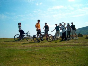 School Trips Wales: Mountain Biking
