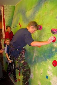 School Trips Wales: Indoor Climbing